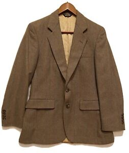 SZ 40 Classic Pierre Cardin Low Moisture Vintage Brown Jacket