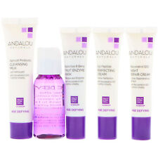 ANDALOU AGE DEFYING 5 PIECE SKINCARE KIT, VEGAN,NO ANIMAL TESTING,NATURAL INGRED