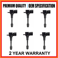 6x Ignition Coil Nissan 350z Skyline Z33 v35 Z33 3.5L VQ35DE 6cyl 2001-2007