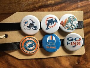 Miami Dolphins NFL American Football - Pin Badge Set