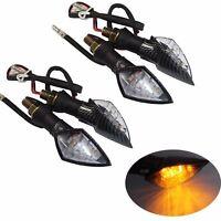 4 x Motorcycle LED Turn Signal Light Indicators Blinkers for Honda CRF250L