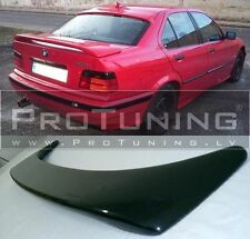 For BMW E36 3 series Saloon Rear Boot Trunk Spoiler Lip Wing Sport Tuning new