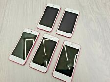 5 x Apple iPod Touch Pink (6th Gen, 2015 onwards ) A1574 CCQV30GLGGK2 - FAULTY