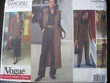 Vogue Tamotsu Sewing Pattern #1200 Uncut 12 14 16 Career Wardrobe 1993