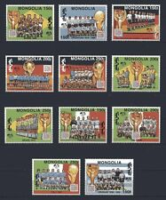 s4486) MONGOLIA 1994 MNH** World Cup Football 11v