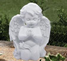 Praying Wings Angel Cherub Statue Figurine Garden Grave site Memorial Statue