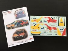 DECAL 1:43 FORD SIERRA RS COSWORTH #17 M.BARDOLET / J.AUTET-RALLYE PORTUGAL 1992
