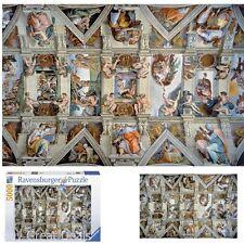 "Ravensburger 5000 Piece Jigsaw Puzzle, 60"" x 40"" Sistine Chapel Kids Puzzle Game"