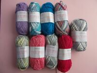 4 x 50g of Sirdar Beachcomber 100% Cotton D/K Wool/Yarn for Knitting/Crochet