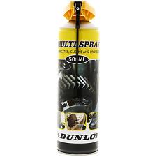 Multispray Dunlop graisse de chaîne de vélo et charnières 500 ml