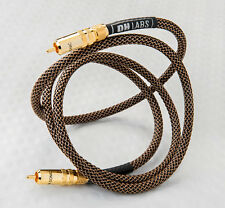 DH Labs Silver Sonic Thunder Premium Subwoofer Cable RCA-RCA 1 meter
