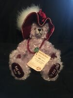 Rare Limited Edition Teddy Bear 35/250 Hermann Brand from Germany Red Hat Bear