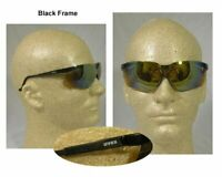 Uvex S3203 Genesis Black Frame Glasses With Gold Mirror Lens With Ud Coating