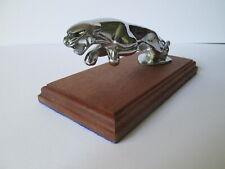 SS Jaguar cat car mascot 1938 onwards. hood ornament vehicle mascot.car badge.
