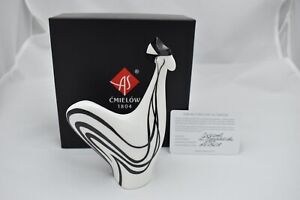 Cmielow Cockerel Porcelain Figurine. Boxed with Certificate