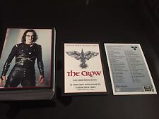 1994 THE CROW series 1 set 100 cards BRANDON LEE eric draven  kitchen sink MINT