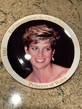 Princess Of Wales-Princess Diana Commemorative Plate