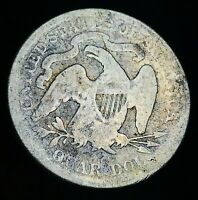 1876 Seated Liberty Quarter 25C High Grade Details Centennial Silver Coin CC3504