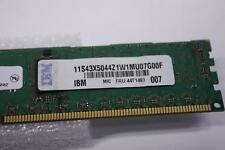 6 X 1GB IBM FRU: 44T1490 P/N 43X5044 1RX8 PC3-10600R-9-10-A0 DDR3 SERVER RAM