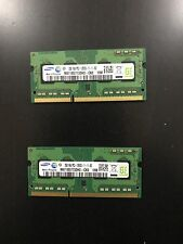 Samsung 2x 2GB DDR3 1333Mhz PC3-12800S SO-DIMM for laptops