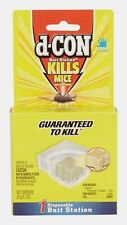 D-Con Rodent BAIT STATION Mice Mouse No Assembly Required Disposable Easy NEW!