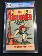 Peacemaker 1 CGC 5.5 1st Solo Cover 1967 Suicide Squad/HBO Max 12 cent cover