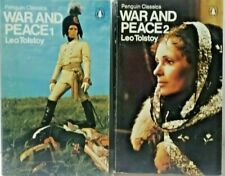 War and Peace by Leo Tolstoy 1972 2 Volume Paperback Slipcase