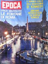 EPOCA n°695 1964 Anna Moffo - Dino Risi - Paolo VI Presidente SEGNI [C80]