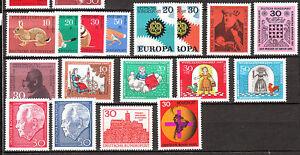 BRD Jahrgang 1967 Postfrisch**  LUXUS!!!