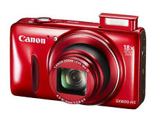 Brand New Canon PowerShot SX600 HS 16MP Digital Camera - Wi-Fi Enabled - Red