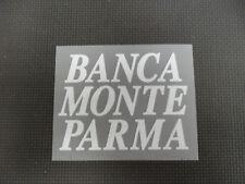 PATROCINADOR PARA CAMISETA PARMA BANCO MONTE PARMA BLANCO