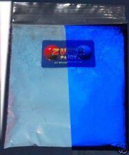 Ultraviolet uv glow fluorescent pigment powder BLUE