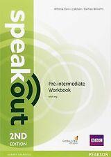 Speakout Pre-Intermediate 2nd Edition Workbook with Key. ENVÍO URGENTE (ESPAÑA)
