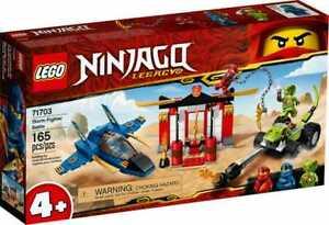 LEGO 71703 NINJAGO 4+ Legacy Storm Fighter Battle Jet Set Box Damage