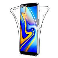 Coque Housse 360° Clear FULL TPU Gel Silicone Samsung Galaxy J4+/ J4 Plus (2018)