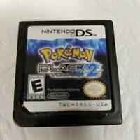 Nintendo 2012 Pokemon black version 2 game cartridge only complete and tested