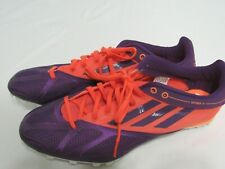 NEW Adidas Spider 4 Orange Purple Women's Track Shoes size 10