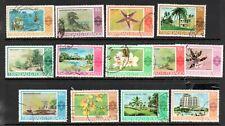 Trinidad & Tobago  1970 Scenes to $5 used
