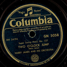 Harry James & His Orch. Two O 'clock jump/tain' t what you do 78 tr/min x2980