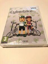 🤩nintendo wii neuf blister officiel cyberbike eur sport velo cycling