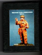 JAKREI MINIATURES J3506 - BRITISH TANK COMMANDER WWII - 1/35 WHITE METAL KIT