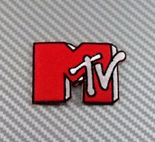 MTV MUSIC TELEVISION TV CAP HAT FUNNY IRON PATCH SEW EMBROIDERED LOGO