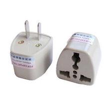 Universal Travel AC Wall Power Adapter China and UK Plug to US Plug Socket