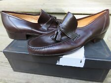 NEW Andre Marseille Hanover Slip-on Loafer Dress Shoes Brown Size 10 M NOS
