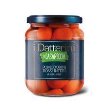 Cherry-Tomaten ROSSI Zahlen bis natürliche 540 Gr. La Casareccia Karton 12 Pezzi