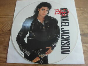 MICHAEL JACKSON BAD 1987 UK PRESS *** RARE PICTURE DISC LP