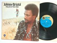 JOHNNY BRISTOL - Hang On In There Baby 1974 Soul Vinyl LP  VG+/VG