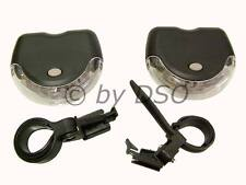 LED FRONT AND REAR LAMP SET FOR BICYCLES - UK STOCK FAST DISPATCH
