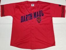 Darth Maul Star Wars Episode I baseball jersey men sz XL Lee Sport vintage