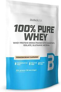 Biotech USA 100% Pure Whey Protéine 454g -muskelaufbau - Régime + Shaker